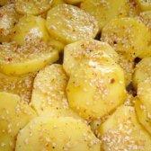 Готуємо смачний картопля з кунжутом