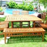 Як поставити садові меблі