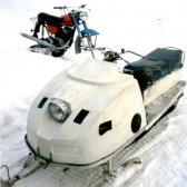 Як зробити снігохід на гусеницях