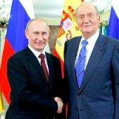 Що вручив російський президент королю Іспанії