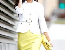 Білий жакет: з чим носити?