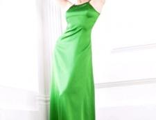 Довге плаття з шовку
