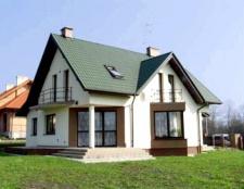 Будинок з арболітових блоків