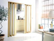 Двері гармошкою: питання і відповіді