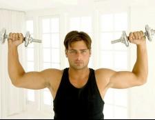 Як швидко гантелями накачати м'язи