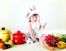 Як готувати дитячу їжу