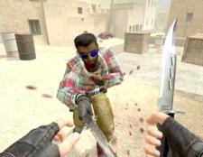 Як грати в КС ножем