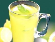 Як з лимона зробити лимонад