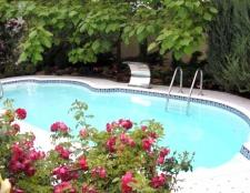 Як на дачі зробити басейн