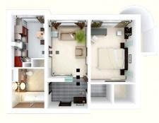 Як намалювати схему квартири