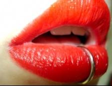 Як не боляче проколоти губу