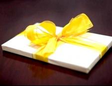 Як підготувати подарунок на день народження