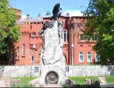Як потрапити до пам'ятників Вітчизняної війни 1812 року