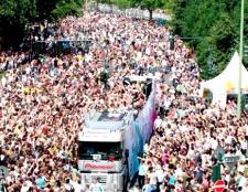 Як потрапити на Love-парад в Берліні