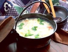 Як приготувати перловий суп