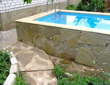 Як зробити басейн для дачі своїми руками
