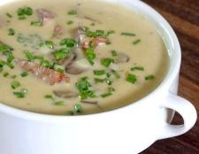 Як зробити грибний суп з пшоном