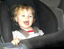 Як вибрати автомобільне крісло для дитини
