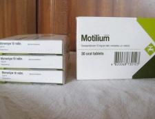 """Мотіліум"": інструкція по застосуванню"