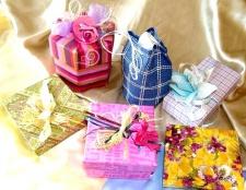 Подарунки, упаковані в романтику
