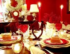 Святковий новорічний стіл. Що приготувати?