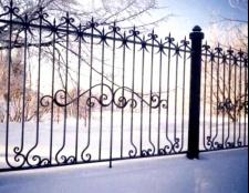 Різновиди металевих парканів та огорож