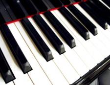 Як налаштувати гітару з фортепіано