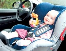 Як перевозити дітей до року в автомобілі
