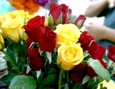 Як подарувати квіти чоловікові