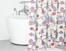 Як повісити штору у ванній