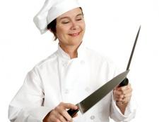 Як правильно точити ніж