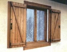 Як самому зробити віконниці