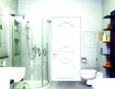 Як вставити двері у ванній