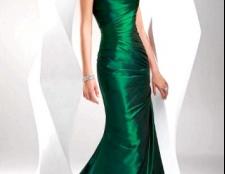 Вечірня сукня зеленого кольору