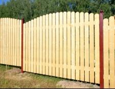 Види дерев'яних парканів
