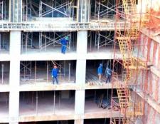 Зведення опалубки для монолітного будівництва
