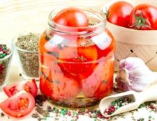 Як зробити мариновані помідори