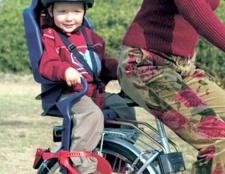 Кататися з дитиною на велосипеді просто