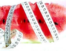 Відгуки про кавунової дієті