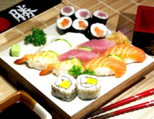 Роли і суші: в чому користь?