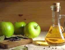 Яблучний оцет - засіб проти розтяжок