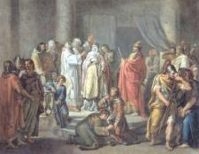 Хто з Рюриковичів першим прийняв християнство