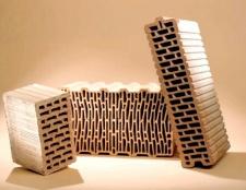 Порівняння видів пустотілих керамічних блоків